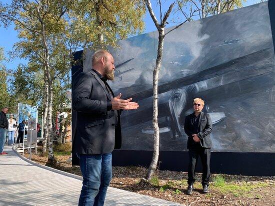 Okkupadjonshistorie - kunstinstallasjon i verdensklasse