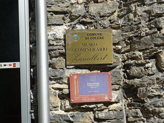 """Eco Museo Delle Miniere """"zanalbert"""""""