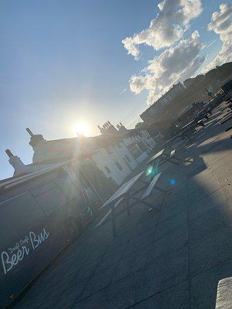 Sunset over The Ship Inn