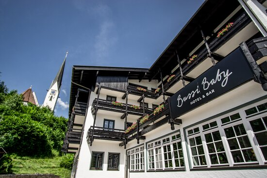 HOTEL BUSSI BABY & BAR, Hotels in Tegernsee