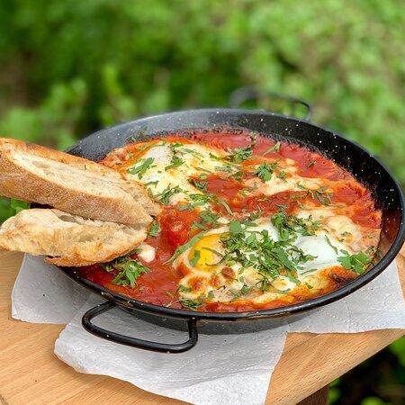 Szakszuka - top Breakfast in Cucina Wilanów
