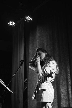 Фото с поэтического вечера Аланы Камболовой