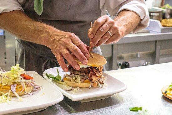 Poppelsdorf, เยอรมนี: Immer beliebt: Burger in verschiedenen Variationen.