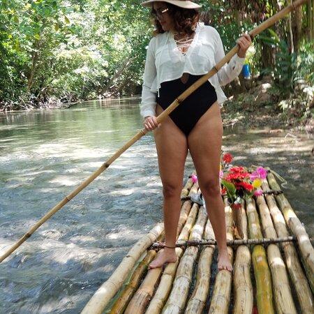 Priory, Jamaica: Rafting