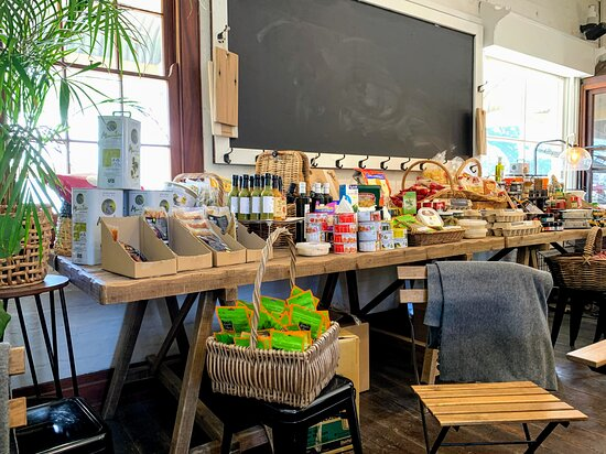 Many scrumptious things to buy to take home with you.