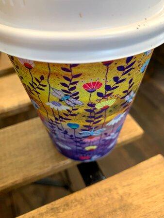 Even pretty coffee cups!