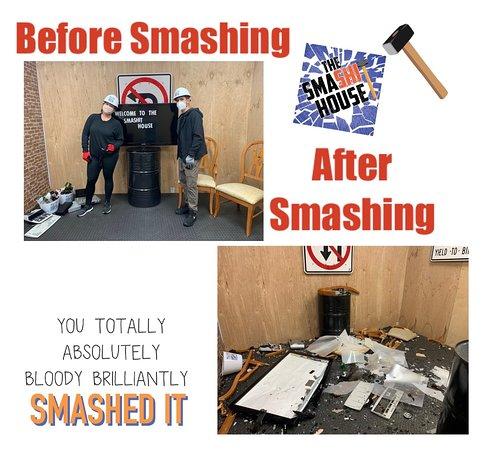 From Smashed To Trash @ The Smashit House Davie