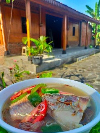 Muntilan, Indonesia: Sup ikan nila