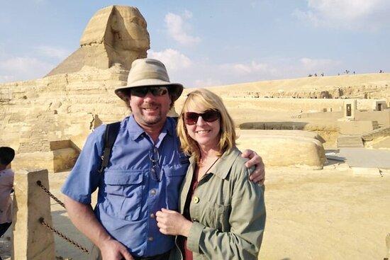 8-timers tur til Giza-pyramidene...