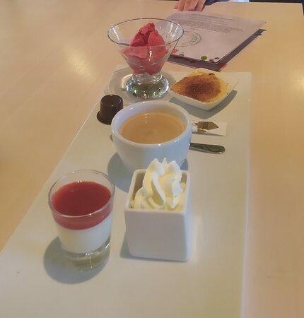 Les Bois, سويسرا: Liste des desserts