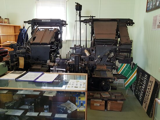 Wondai, Australie : Newspaper Printing Presses