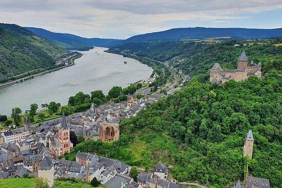 Excursion privée d'une journée dans la vallée du Rhin au départ de...