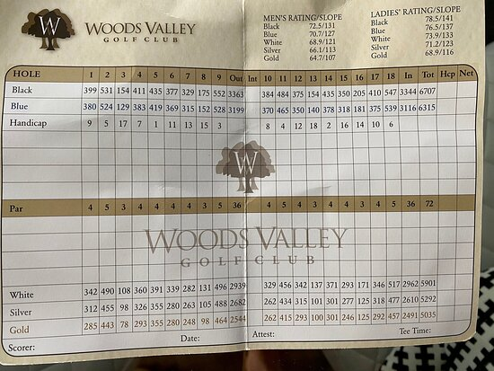 Woods Valley Golf Club