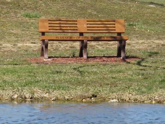 Goshen, OH: Bench in memory of my Mom and Dad  Who are both missed very much