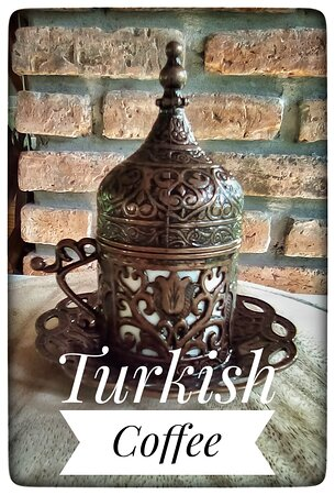 Delicious Turkish Coffee made the real turkish way.