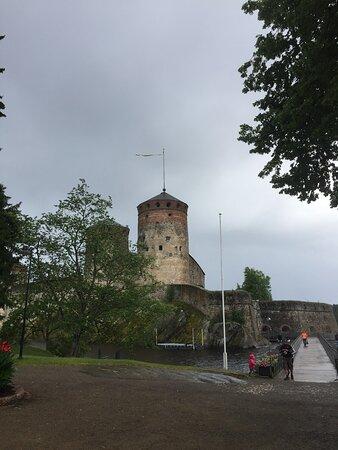 Kerimaki, Finska: Olavinlinna castle a nearby tourist sight in Savonlinna city
