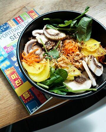 La Bibimerie – restaurant coréen terrasse – asiatique – bibimbap – République – Strasbourg saint denis - Paris 10