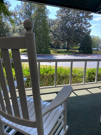 Spent many an hour rocking on the porches, enjoying the weather, people, food and drink