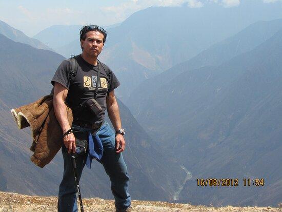 Cachora, Peru: Vista desde el Ushnu en Choquequirao
