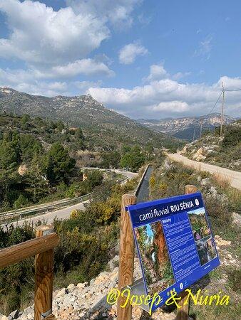 La Senia, İspanya: Camí fluvial del Riu Sènia