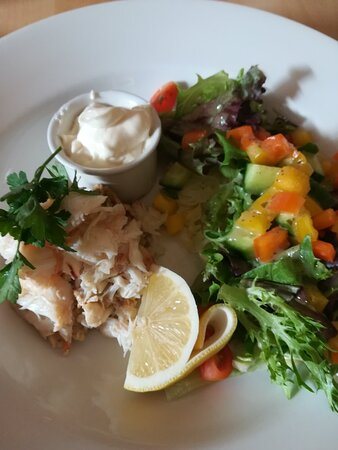 Lovely Local Crab Salad.