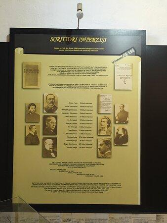 Writers forbidden in the Communist era.