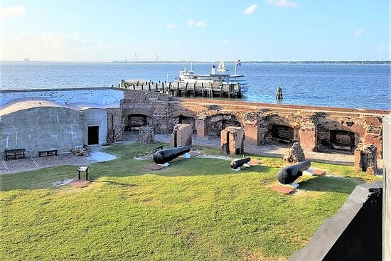 Fort Sumter Admission Ticket & Self-Guided Tour with Roundtrip Ferry...