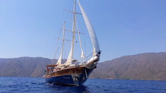 Sailing the Mediterranean along the coast of South-West Turkey and the Greek islands with Sailing Chef