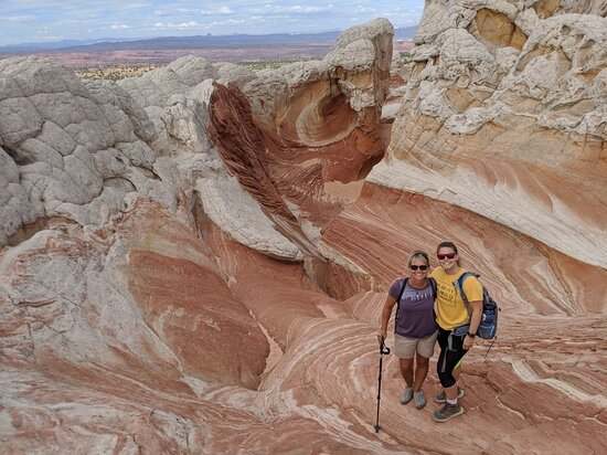 Hiking Kanab Visit and Photograph the famous White Pockets in Vermilion Cliffs Photo