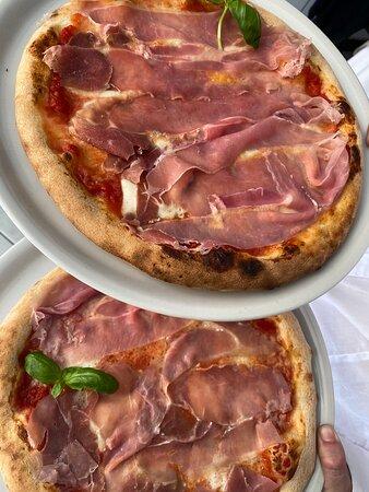 Pizza crudo San Daniele e bufala campana doc🍕✨