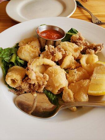 Glenside, PA: Fried calamari appetizer