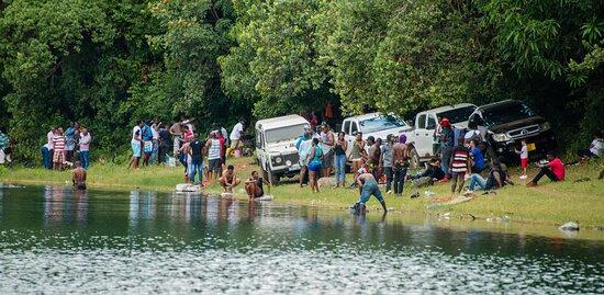 Mbeya Region, Tanzanija: Lake Kisiba also known as Lake Masoko