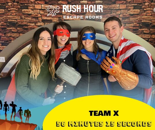 Rush Hour Escape Rooms