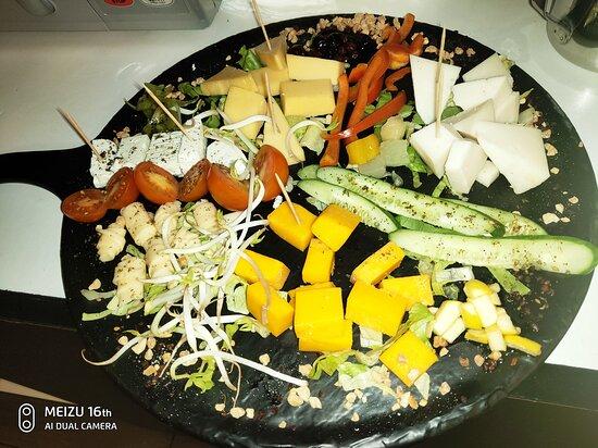 Fassuta, Israel: Cheese plate