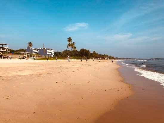 Uppuveli, Sri Lanka: Beach