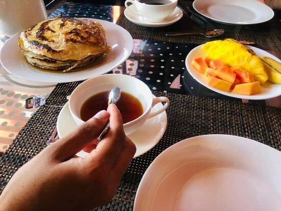 Uppuveli, Sri Lanka: Breakfast