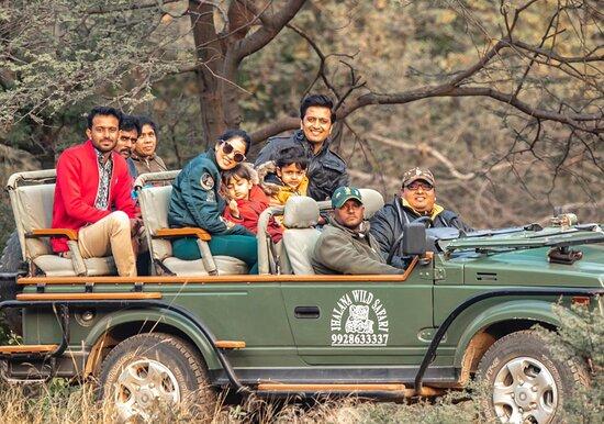 Jhalana Leopard Reserve Safari