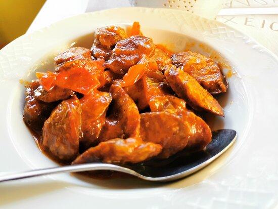 Spetsofai sausage