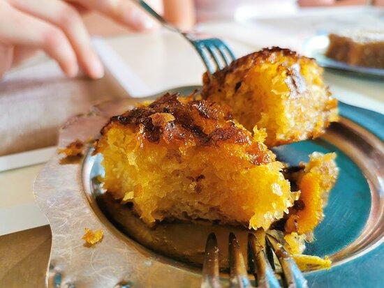 Orange peel cake