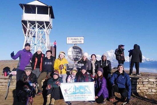 Female Destination Trek & Expedition Trek & Expedition Pvt.Ltd.