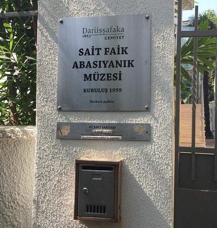 Burgazada, Turkey: Sait Faik Abasıyanık Müzesi