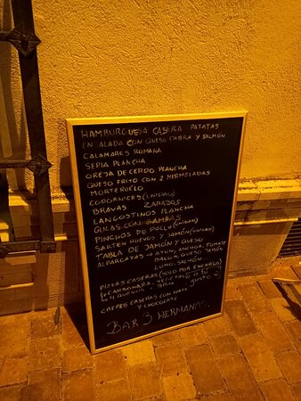 Cardenete, Ισπανία: Bar 3 Hermanos