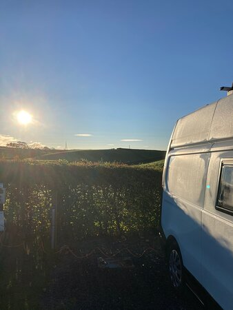New Hutton, UK: Wish I could wake up to this view every day!