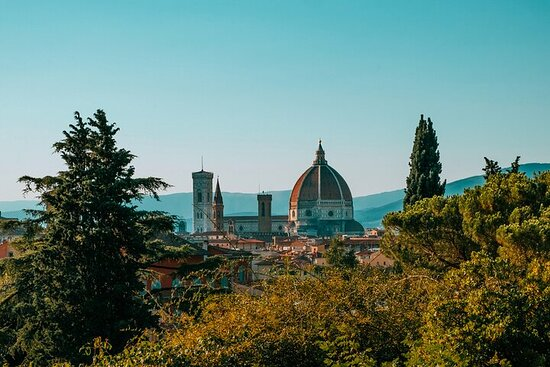 Walking on Florence Hills and Tuscany