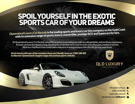 Qld Luxury Car Rentals