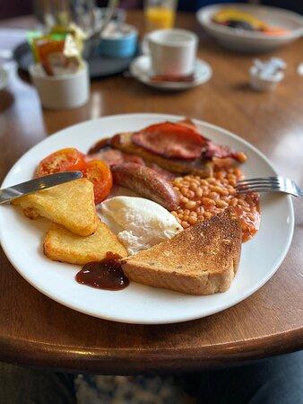 Broadmayne, UK: Full English Fry!