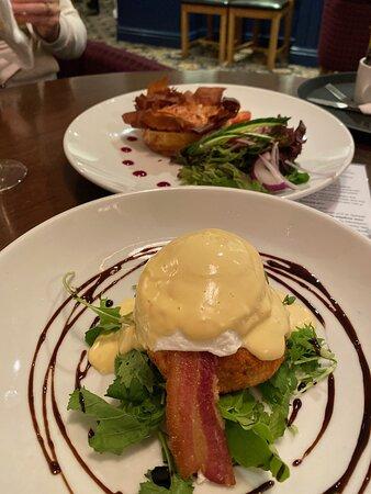 Broadmayne, UK: Haddock fishcake, Yum!