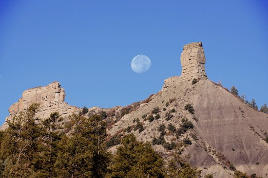 Chimney Rock, CO: Watch the full moo rise over the San Juan Mountain at this the Full Moon Special Program!
