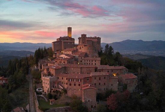 Monte Santa Maria Tiberina (PG) Umbria, Italia