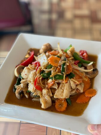 Gray, ME: One of the many wonderful dishes at Manee Thai